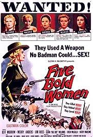 Five Bold Women Poster