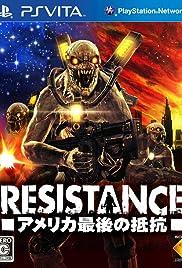 Resistance: Burning Skies Poster