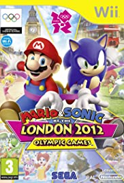 Mario & Sonic at the London Olympic Games Poster