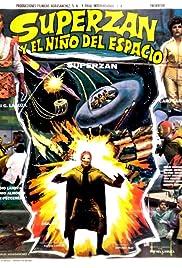 Superzan y el niño del espacio Poster