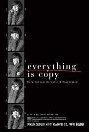 Everything Is Copy (2015) Poster - Movie Forum, Cast, Reviews