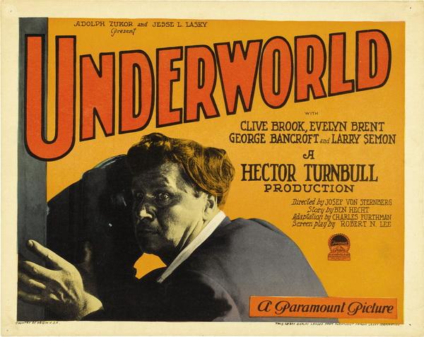 Underworld (1927 film) Underworld 1927