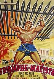 Il trionfo di Maciste Poster