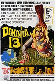 Dementia 13 (1963) Poster - Movie Forum, Cast, Reviews