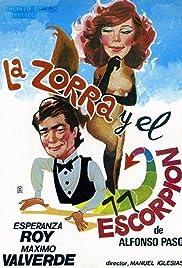 La zorra y el escorpión Poster