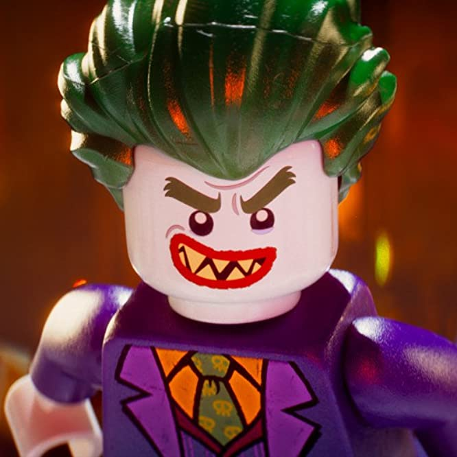 Zach Galifianakis in The Lego Batman Movie (2017)
