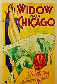 The Widow from Chicago Poster