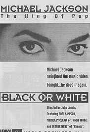 Michael Jackson: Black or White(1991) Poster - Movie Forum, Cast, Reviews