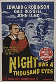 Night Has a Thousand Eyes Poster
