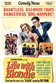 Life with Blondie Poster