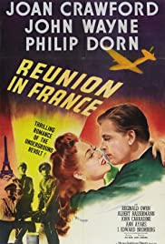 Reunion in France (1942) Poster - Movie Forum, Cast, Reviews