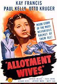 Allotment Wives (1945) Poster - Movie Forum, Cast, Reviews