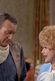 Lucy and John Wayne Poster