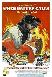 When Nature Calls(1985) Poster - Movie Forum, Cast, Reviews