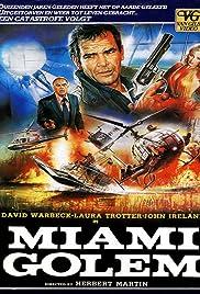 Miami Golem(1985) Poster - Movie Forum, Cast, Reviews
