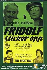 Fridolf sticker opp! Poster