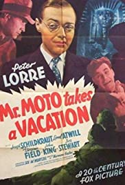 Mr. Moto Takes a Vacation Poster