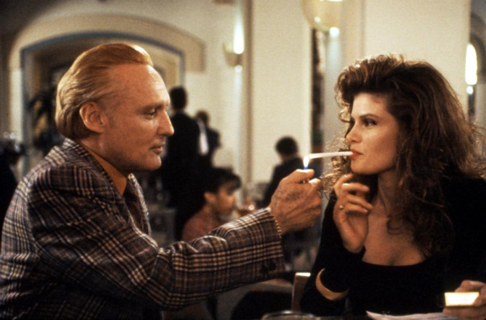 Lolita Davidovich and Dennis Hopper in Boiling Point (1993)