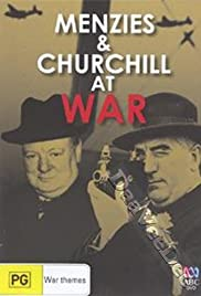 Menzies and Churchill at War Poster