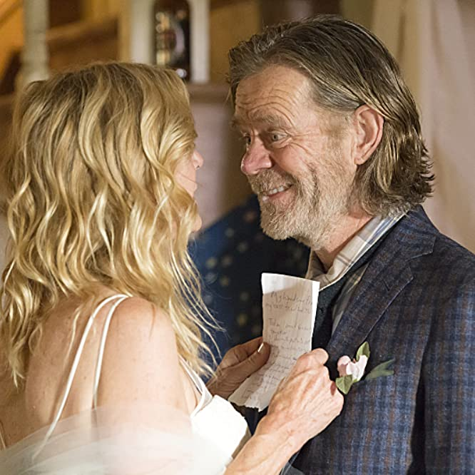 William H. Macy and Chloe Webb in Shameless (2011)