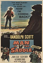 Man in the Saddle (1951) Poster - Movie Forum, Cast, Reviews