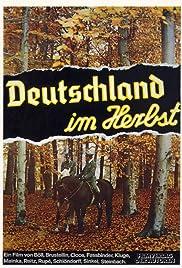 Deutschland im Herbst Poster
