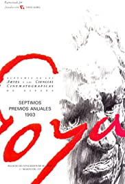 VII premios Goya Poster