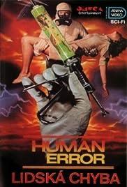 Human Error Poster