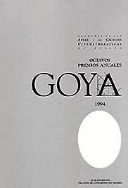 VIII premios Goya Poster