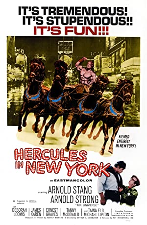 Movie Hercules in New York (1970)