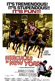 Hercules in New York (1970) Poster - Movie Forum, Cast, Reviews
