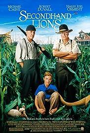 Secondhand Lions(2003) Poster - Movie Forum, Cast, Reviews