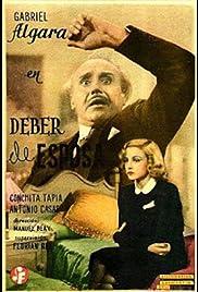 Deber de esposa Poster