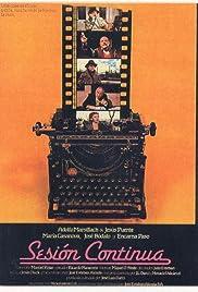 Sesión continua Poster
