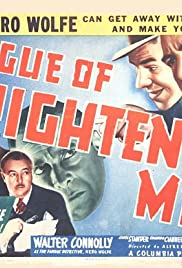 The League of Frightened Men Poster