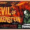 Peter Cushing in The Evil of Frankenstein (1964)