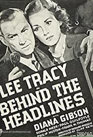 Behind the Headlines (1937) Poster - Movie Forum, Cast, Reviews