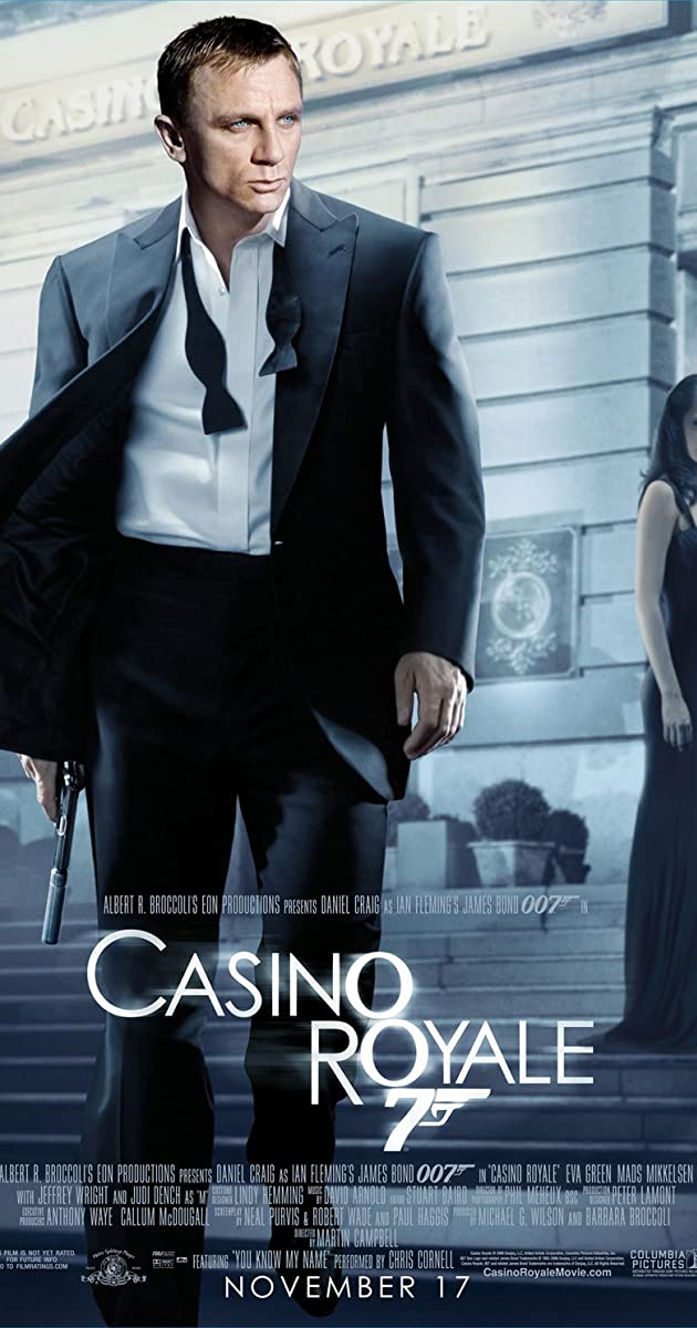 Most of the studio work for casino royale was filmed in what city casers casino indiana