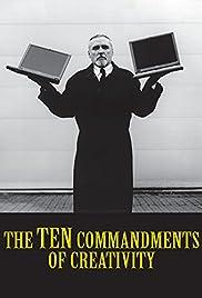The 10 Commandments of Creativity Poster