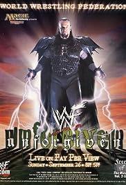 WWF Unforgiven(1999) Poster - TV Show Forum, Cast, Reviews