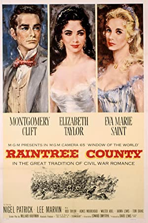 Raintree County poster