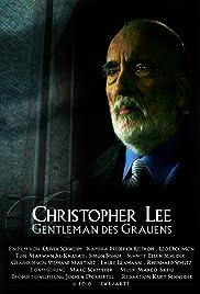 Christopher Lee - Gentleman des Grauens Poster