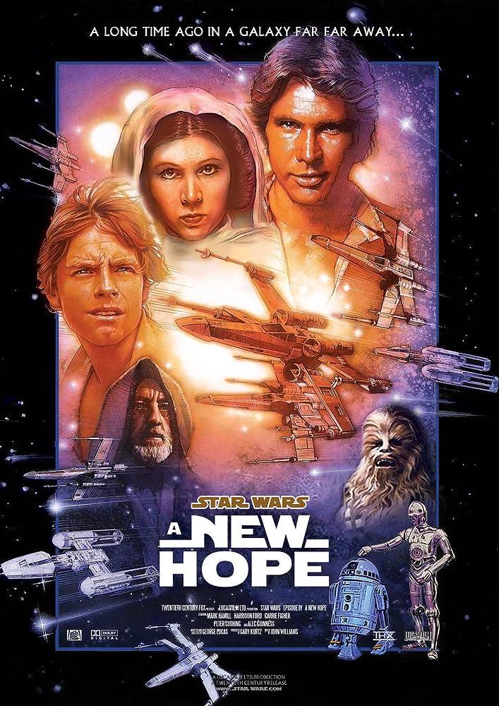 Star Wars: Episode IV - A New Hope (1977) MV5BMDM1NmMxMzItYWUzMC00Yzc2LTk4MzctOTdkNDVhODY2N2MxXkEyXkFqcGdeQXVyNDQ0Mjg4NTY@._V1_SY1000_CR0,0,707,1000_AL_