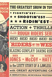 Riders of the West Poster