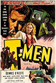 T-Men (1947) Poster - Movie Forum, Cast, Reviews