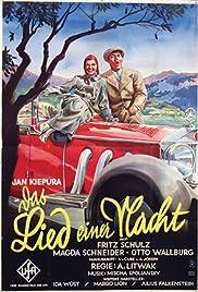 Das Lied einer Nacht Poster