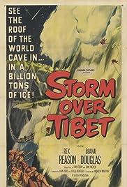 Storm Over Tibet Poster