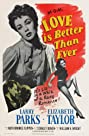 Love Is Better Than Ever (1952) Poster