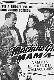 Machine Gun Mama Poster
