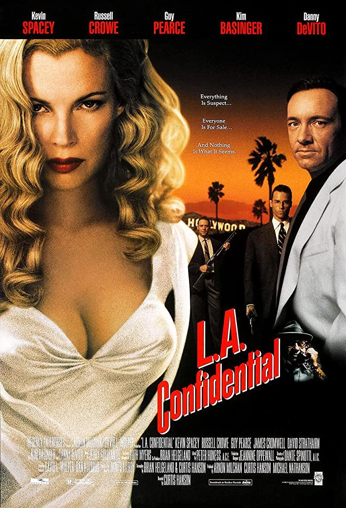 an analysis of the crime drama film la confidential A page for describing characters: la confidential the main trio det sgt jack vincennes first a narcotics detective, he is sent to anti-vice after the .